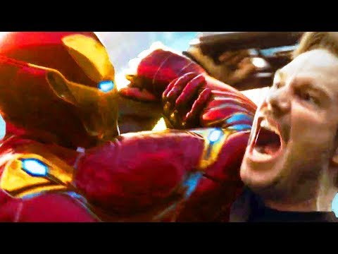 "AVENGERS INFINITY WAR ""Iron Man VS Star Lord"" Trailer"