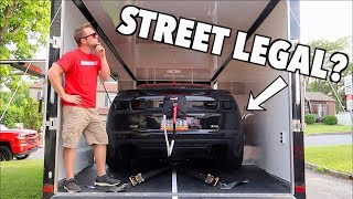 Is My 1200hp Straight Piped Drag Car Actually STREET LEGAL!?