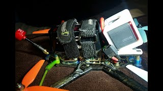 BOTGRINDER BANGER some flight video BOTAFX FPV FREESTYLE
