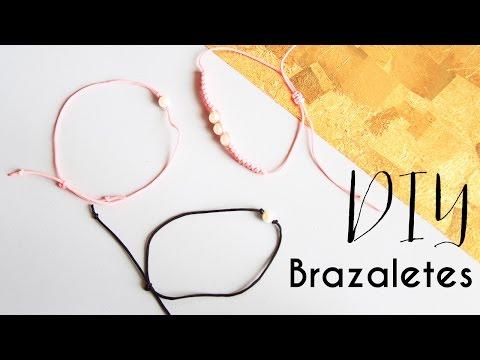 DIY Brazaletes para Primavera - Macrame | Carolina Llano