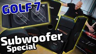 VW Golf 7 | Der beste Subwoofer | Vergleichstest | ARS24