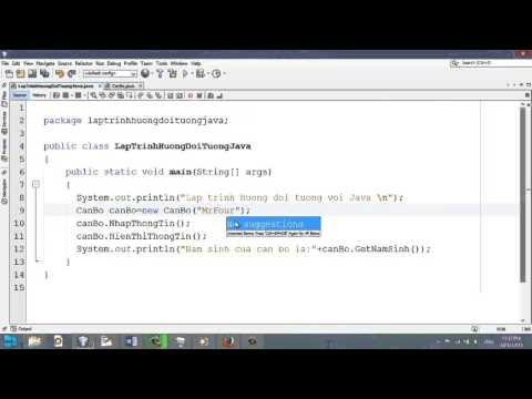 Video 32 - Phương thức khởi tạo