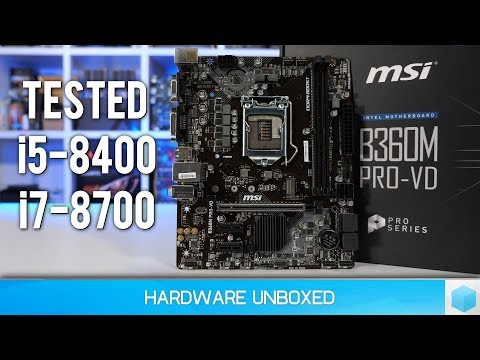 Intel B360 vs. Z370, FINALLY Budget 300-series Chipsets!