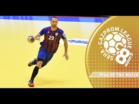 Play of the match: Stefan Vujic (PPD Zagreb vs Steaua Bucuresti)
