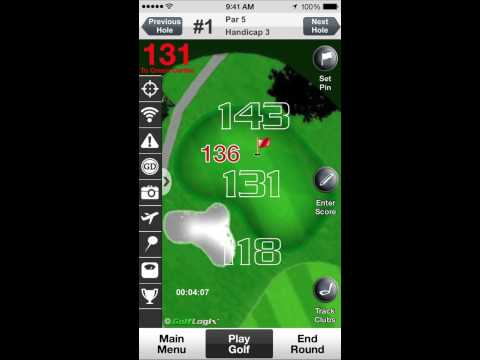 Video of GolfLogix #1 Free Golf GPS App
