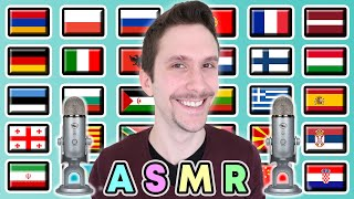 """How To Say """"ASMR!"""" in 30 Different Languages"""