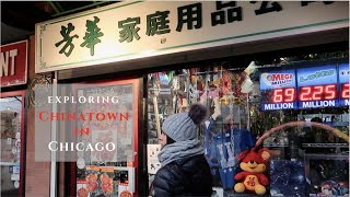 Exploring Chinatown In Chicago, Illinois (USA)