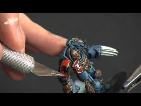 How to paint a Space Wolf Terminator - part 4
