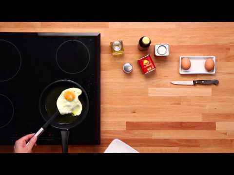 Huevo Frito al Pimentón La Chinata - Fried Egg with Smoked Paprika