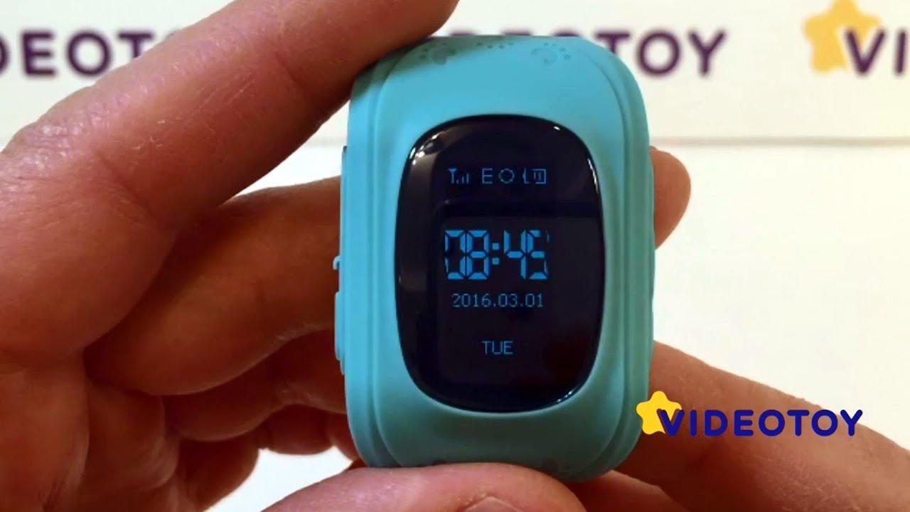 Видео Детские GPS-часы