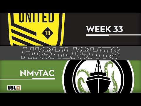 New Mexico - Tacoma Defiance 1:1. Видеообзор матча 17.10.2019. Видео голов и опасных моментов игры