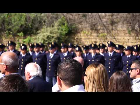 Anniversario strage di Capaci, 23 maggio 2014. Scuola Polizia di Stato di Peschiera del Garda,