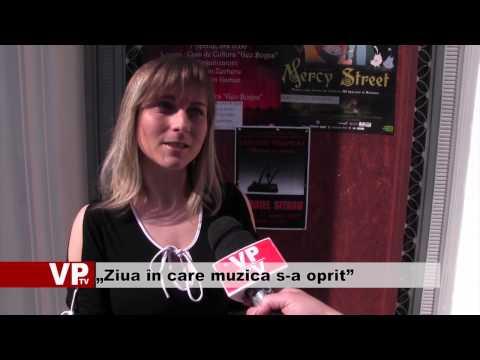"""""""Ziua în care muzica s-a oprit"""""""