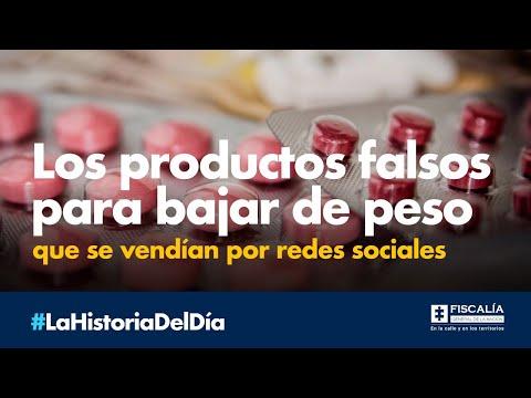 Los productos falsos para bajar de peso que se vendían por redes sociales