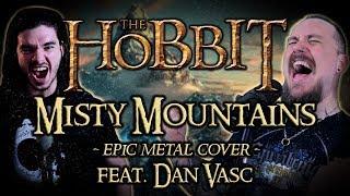 The Hobbit - Misty Mountains (Epic Metal Cover by Skar feat. Dan Vasc)