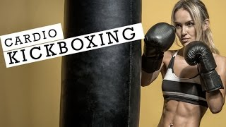 20 Minute Cardio Kickboxing Workout (MASCARA WILL BE RUNNING!!) by Athlean-XX for Women