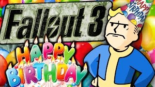 Fallout 3 - WORST BIRTHDAY PARTY EVER!  (Fallout 3 w/ Mods & Cheats)