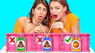 After a long day, you think it's high time you enjoyed a good tasty drink. But word to the wise?  You'll want to make sure you follow the right recipe before you take a giant gulp.  Get ready for the Don't Choose the Wrong Cocktail Challenge!  If these drinks make you want to hurl, share them with your friends to give them a scare! And don't forget to subscribe to 123Go Challenge's YouTube page for more hilarious videos like this one!    #123GO #MysteryDrink  #FunnyPranks #FoodChallenge    Music by Epidemic Sound: https://www.epidemicsound.com/  Stock materials: https://www.depositphotos.com https://www.shutterstock.com https://elements.envato.com