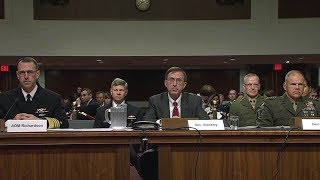 Senate Armed Services hearing on Navy posture. Sec  Stackley, ADM Richardson, Gen  Nelle
