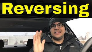 Reversing In An Automatic Car-Beginner Driving Lesson
