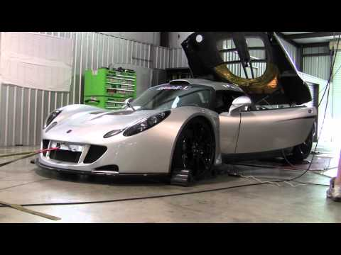 Hennessey Venom GT Hits the Dyno