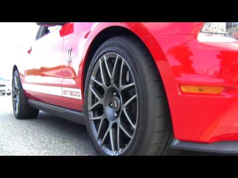 2010 Mustang Shelby GT500: Track Test First Drive