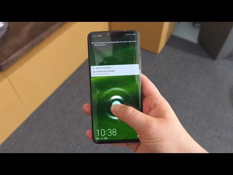 Fingerabdrucksensor im Display! - HUAWEI Mate20 & Mate20 Pro Ersteindruck!