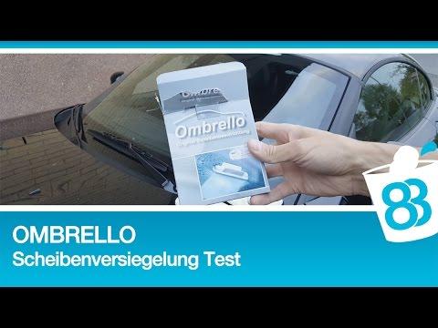 83metoo Ombrello Scheibenversiegelung Anleitung und Testfahrt