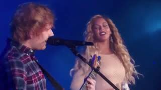 Ed Sheeran And Beyonce   Live Perfect Duet