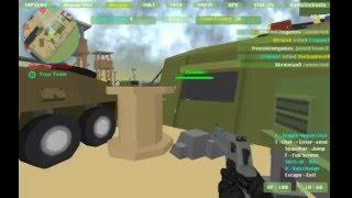Cùng chơi Military Wars 3D (game bắn súng online 3D)