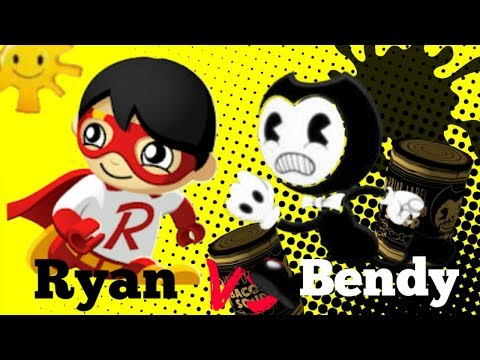 TAG WITH RYAN VS BENDY'S NIGHTMARE RUN