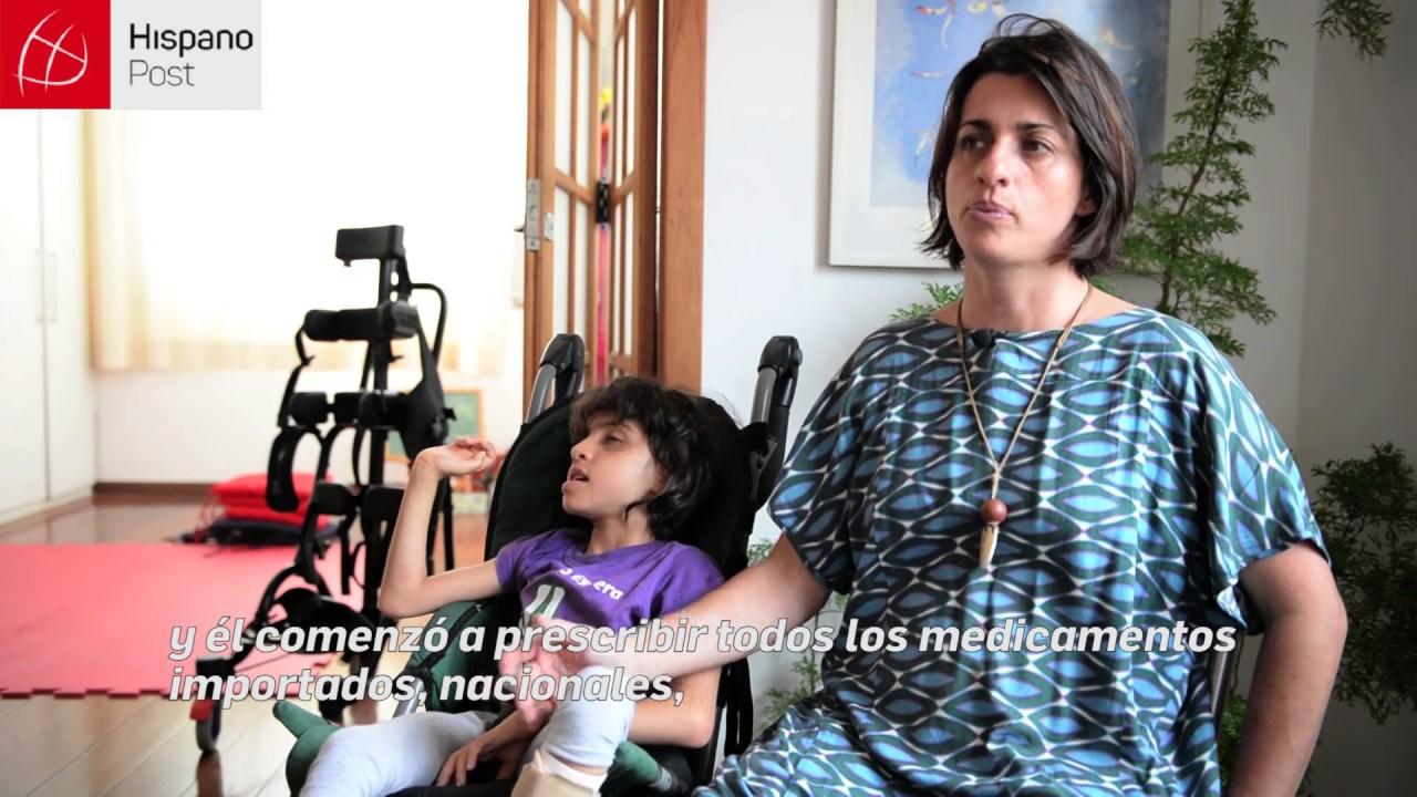 Madre brasileña la lucha por la legalización de la marihuana medicinal