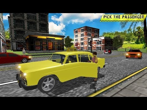 Taxi Driving in Rush City - Android Gameplay FHD