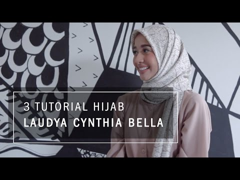 Video 3 Tutorial Hijab Laudya Cynthia Bella