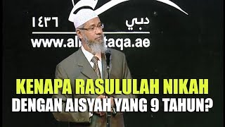 Kenapa Rasulullah Menikahi Aisyah yang Berumur 9 Tahun Dr Za...