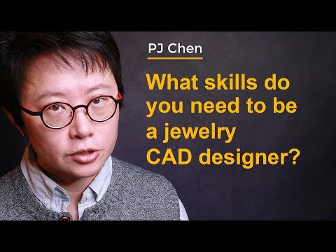 What skill do you need to be a jewelry CAD designer? (2019)