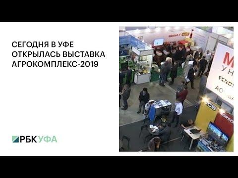 В Уфе открылась выставка Агрокомплекс-2019