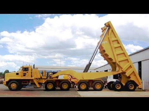 Extreme Dangerous Biggest Dump Truck Operator - Largest Bulldozer Heavy Equipment Machines Monster
