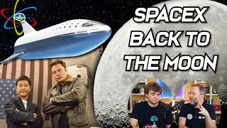 SpaceX Back to the Moon!  | In Depth