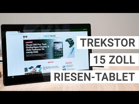 TrekStor Surftab theatre L15: Erster Eindruck vom 15 Zoll Riesen-Tablet