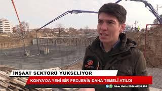 Konya'da yeni bir projenin daha temeli atıldı