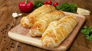 Куриное филе в слоеном тесте - Рецепты от Со Вкусом