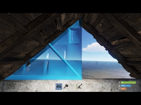 Rust - Изменение наклонных крыш!