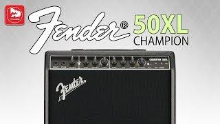 Новый гитарный комбик Fender Champion 50xl