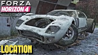 FORZA HORIZON 4 - [BARN FIND] Ford GT40 LOCATION