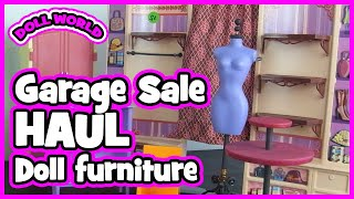 Barbie Doll Furniture Garage Sale Haul