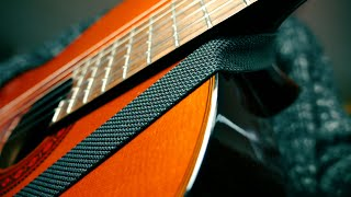 How to strap a classical guitar - No drilling 😉