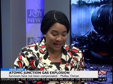 Atomic Junction Gas Explosion - News Desk on JoyNews (8-10-18)