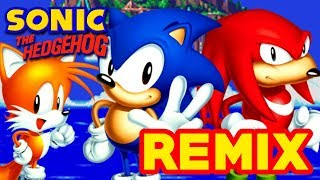 Sonic 3 & Knuckles Remix - Red Sphere, Blue Sphere (Sonic Mania Bonus Stage, Ben Briggs)