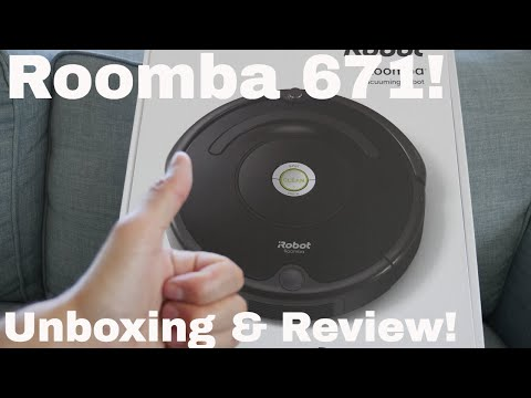 Roomba 671- Unboxing and Review!